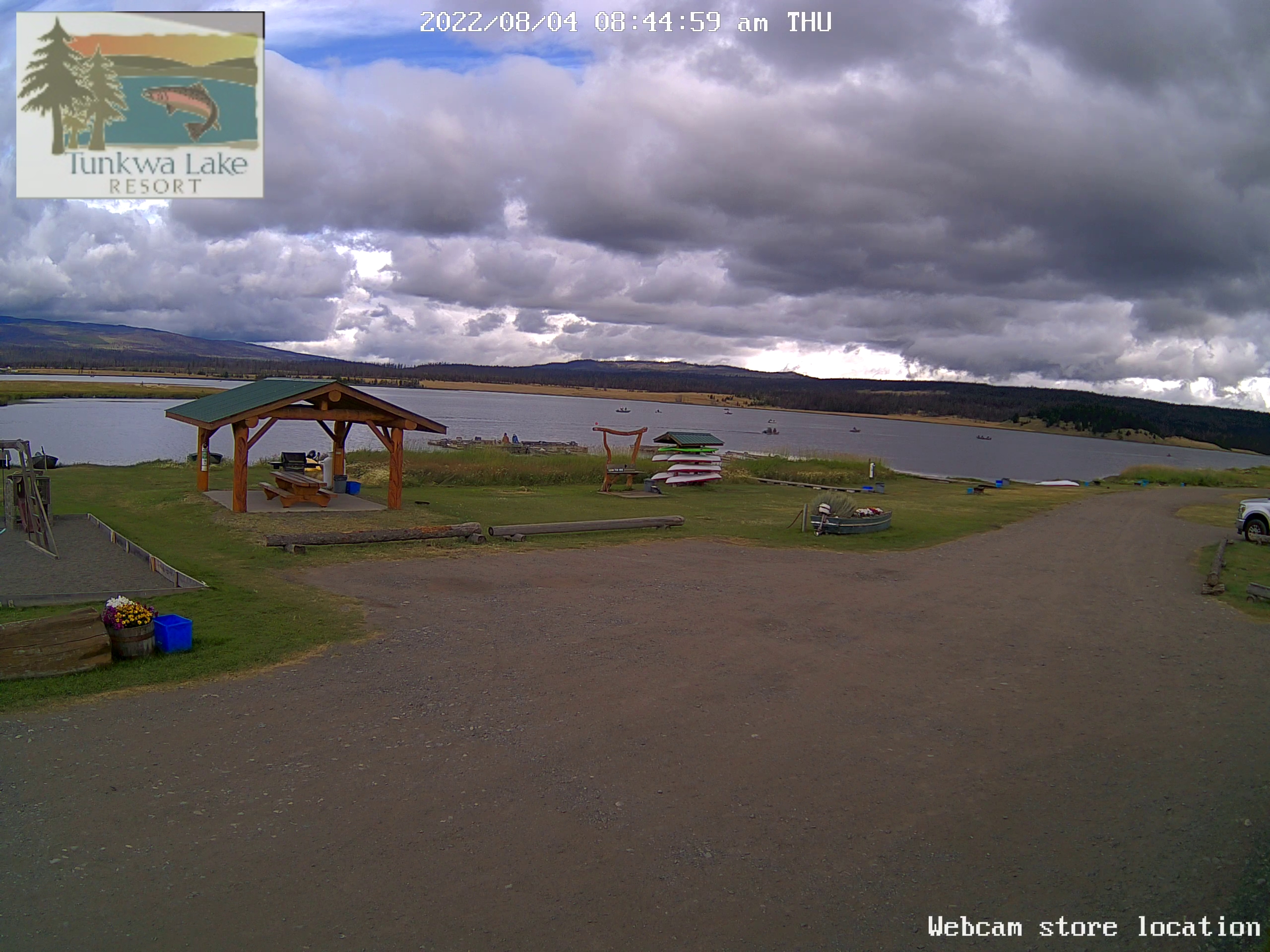 Webcam Tunkwa Lake Resort